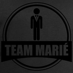 Team marié tee shirt enterrement de vie de garço - Sweat-shirt Homme Stanley & Stella