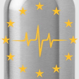 Pulse of Europe, EU Stars, European Union Shirts - Water Bottle