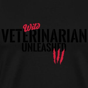 Wild veterinary unleashed Baby Long Sleeve Shirts - Men's Premium T-Shirt
