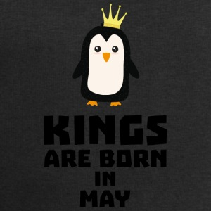kings born in MAY S8l1m Baby Long Sleeve Shirts - Men's Sweatshirt by Stanley & Stella