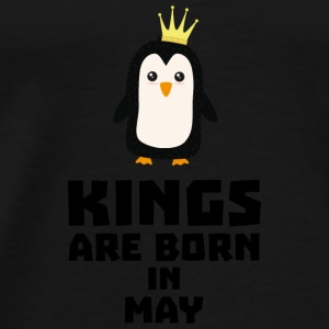 kings born in MAY S8l1m Baby Long Sleeve Shirts - Men's Premium T-Shirt