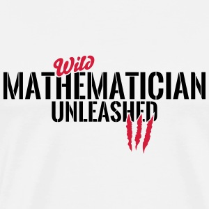 Wild mathematician unleashed Baby Long Sleeve Shirts - Men's Premium T-Shirt