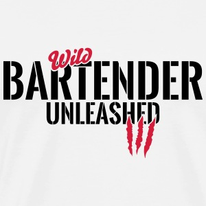 Wild bartender unleashed Baby Long Sleeve Shirts - Men's Premium T-Shirt