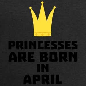 Princesses are born in APRIL Sxrt2 Baby Long Sleeve Shirts - Men's Sweatshirt by Stanley & Stella