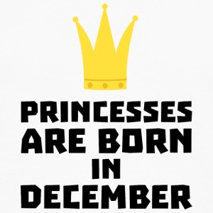 Princesses are born in DECEMBER S5q0o T-Shirts - Men's Premium Longsleeve Shirt