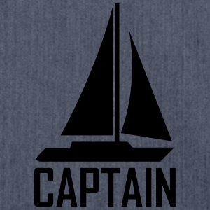 captain T-Shirts - Schultertasche aus Recycling-Material