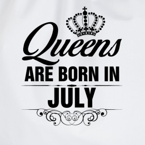 Queens Are Born In July Tops - Drawstring Bag
