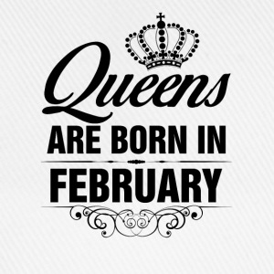 Queens Are Born In February Tshirt T-Shirts - Baseball Cap