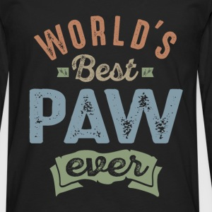 World's Best Paw  - Men's Premium Longsleeve Shirt