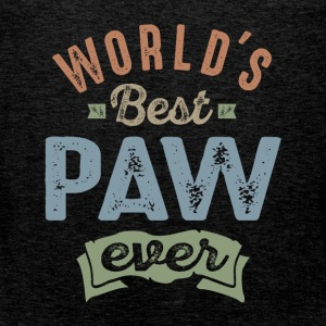 World's Best Paw  - Men's Premium Tank Top
