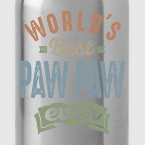 World's Best Paw Paw - Water Bottle