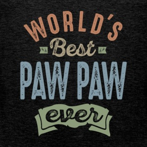 World's Best Paw Paw - Men's Premium Tank Top
