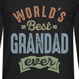 World's Best Grandad - Men's Premium Longsleeve Shirt