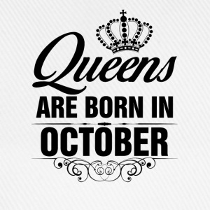 Queens Are Born In October Tshirt T-Shirts - Baseball Cap