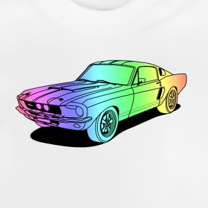 cool car colourful Shirts - Baby T-Shirt