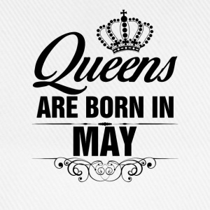 Queens Are Born In May Tshirt T-Shirts - Baseball Cap
