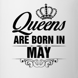 Queens Are Born In May Tshirt T-Shirts - Mug