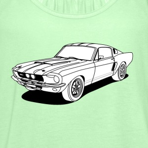 cool car white T-skjorter - Singlet for kvinner fra Bella