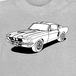cool car white Shirts - Baby T-shirt
