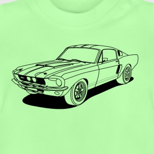 cool car outlines Shirts - Baby T-shirt