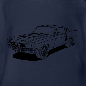 cool car outlines Camisetas - Body orgánico de maga corta para bebé