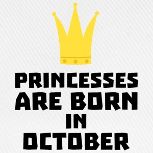 Princesses are born in OCTOBER Sew85 T-Shirts - Baseball Cap