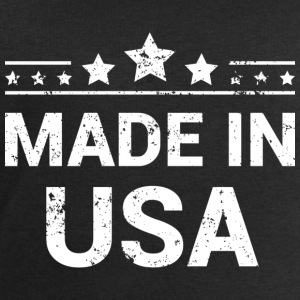 Made in USA (White Print) T-Shirts - Men's Sweatshirt by Stanley & Stella