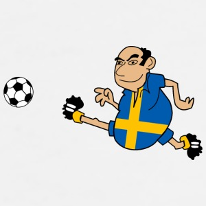 Swedish footballers mobile & tablet cases - Men's Premium T-Shirt
