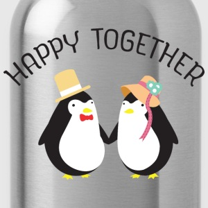 Happy Together T-Shirts - Trinkflasche