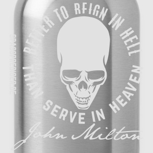Reign in Hell, Milton T-Shirts - Trinkflasche