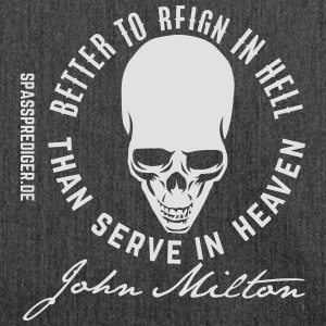 Reign in Hell, Milton T-Shirts - Schultertasche aus Recycling-Material