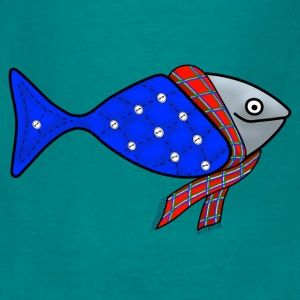 Cold water fish tote bag - Men's T-Shirt