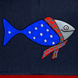 Cold water fish tote bag - Snapback Cap