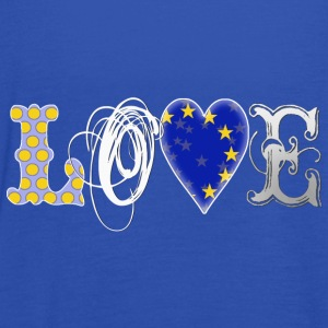 Love Europe White - Frauen Tank Top von Bella