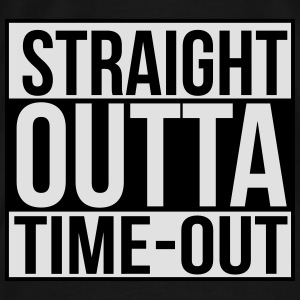 Straight outta time-out Baby body - Mannen Premium T-shirt