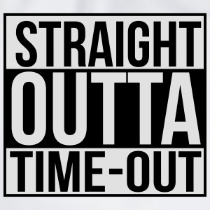 Straight outta time-out Baby body - Gymtas