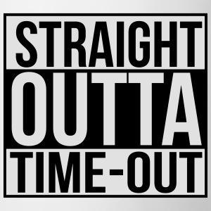 Straight outta time-out Baby Bodysuits - Mug