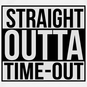 Straight outta time-out Babybody - Premium T-skjorte for menn