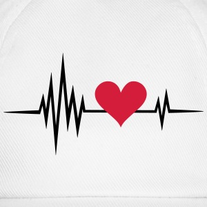 Heart rate, pulse, heartbeat, I love you, Infinity - Baseball Cap