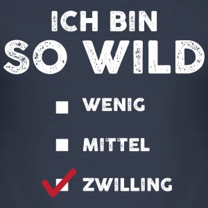 So wild Zwilling Pullover & Hoodies - Männer Slim Fit T-Shirt