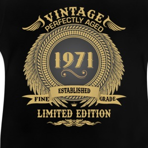 Vintage Perfectly Aged 1971 Limited Edition Shirts - Baby T-Shirt