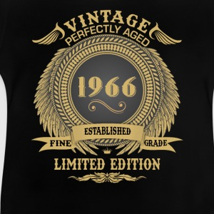 Vintage Perfectly Aged 1966 Limited Edition Shirts - Baby T-Shirt