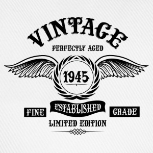 Vintage Perfectly Aged 1945 T-Shirts - Baseball Cap