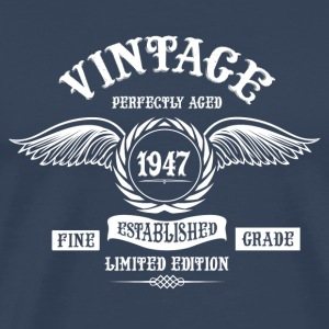 Vintage Perfectly Aged 1947 Long Sleeve Shirts - Men's Premium T-Shirt