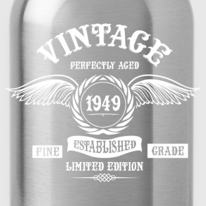 Vintage Perfectly Aged 1949 T-Shirts - Water Bottle