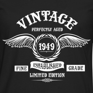 Vintage Perfectly Aged 1949 T-Shirts - Men's Premium Longsleeve Shirt