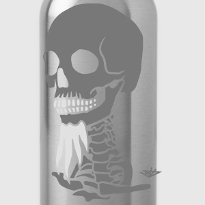 Skull A02 T-Shirts - Trinkflasche