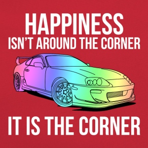 Happiness is the corner Shirts - Retro Bag
