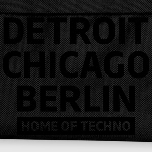 Detroit Chicago Berlin home of techno minimal Club T-skjorter - Ryggsekk for barn