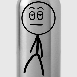 Annoyed Stickman Tops - Water Bottle